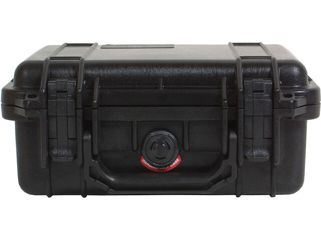 Peli 1200 Case with Foam Insert, black